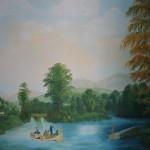 Panoramique Les barques